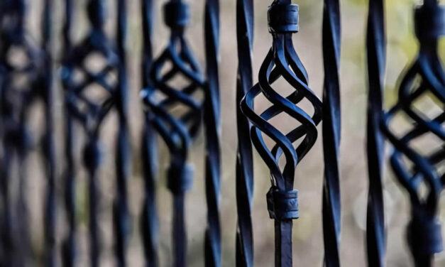 Repintado de rejas de hierro