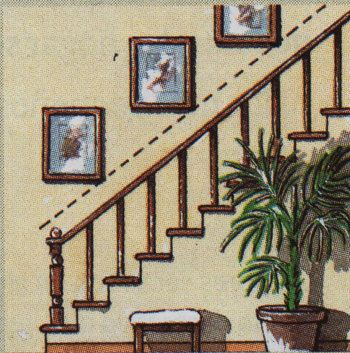 C mo colgar un conjunto de cuadros esmihobby for Cuadros para escaleras