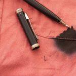 Consejos de lavandería como sacar manchas de tinta