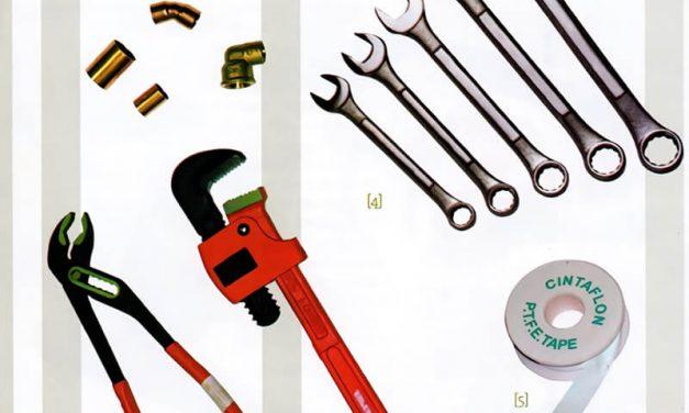 Como conocer las tuberías, accesorios y herramientas de plomería