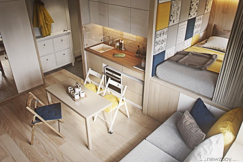 Ampliar espacios pequeños con decoración