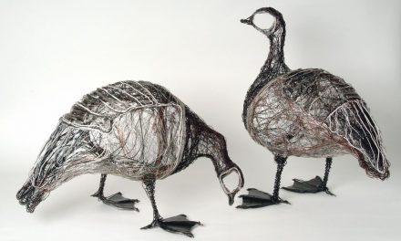 Celia Smith y sus pájaros de alambre