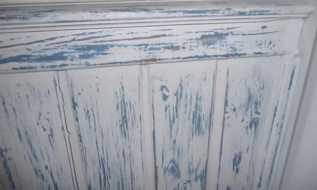Como hacer patina en madera