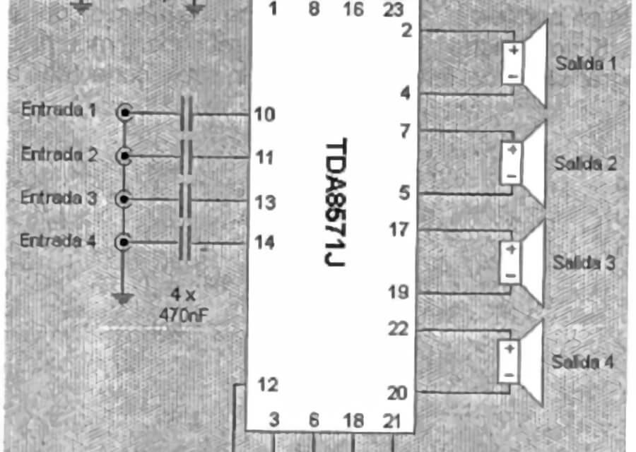 Como hacer un Amplificador de 4×40