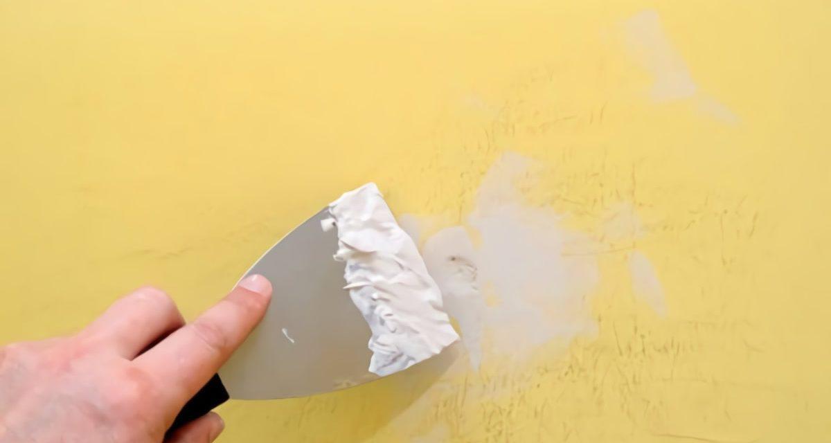 Como reparar desperfectos y grietas