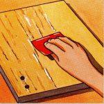 Cómo arreglar la puerta de un armario enchapado